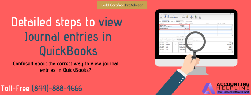 How to View Journal Entries in QuickBooks